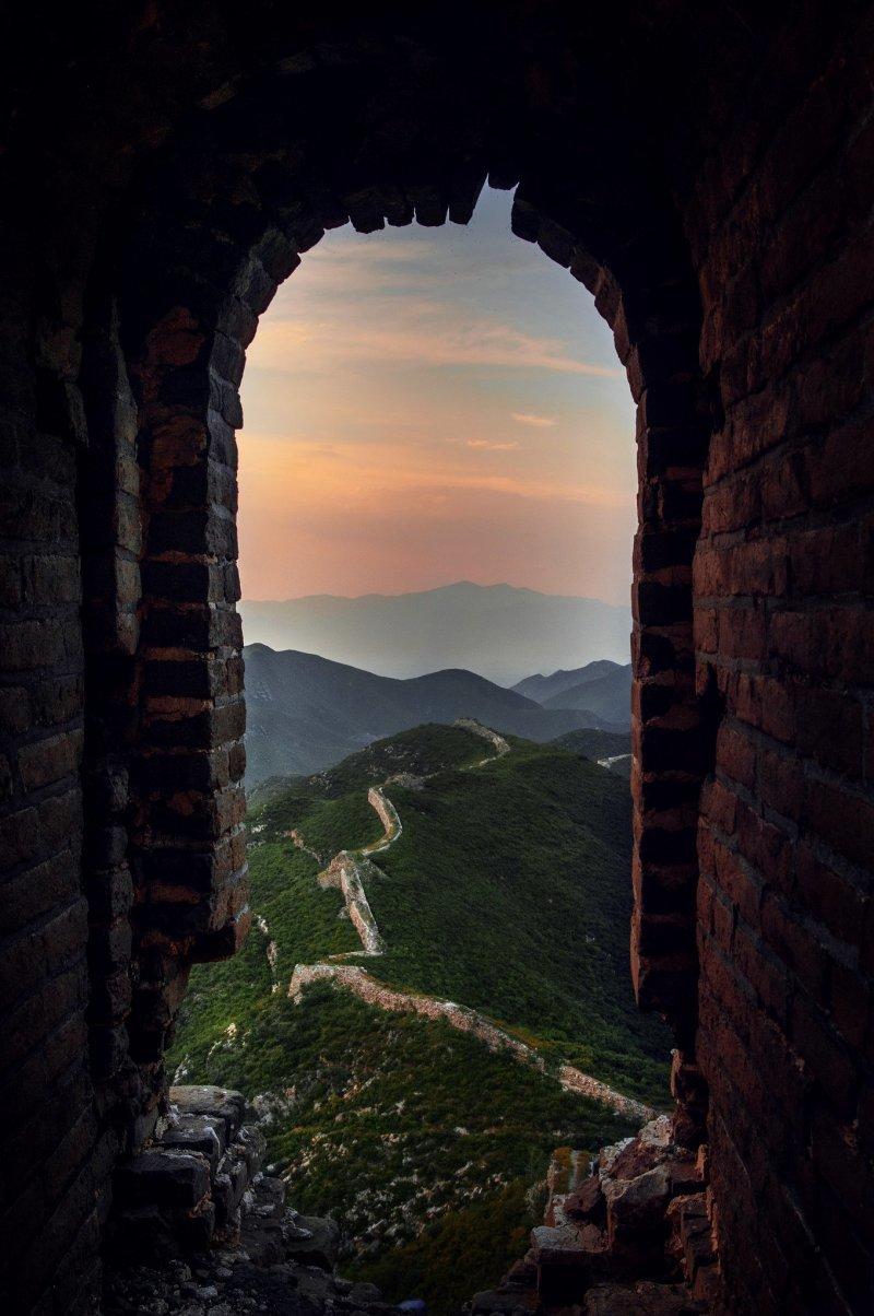 Великая Китайская стена день, животные, кадр, люди, мир, снимок, фото, фотоподборка