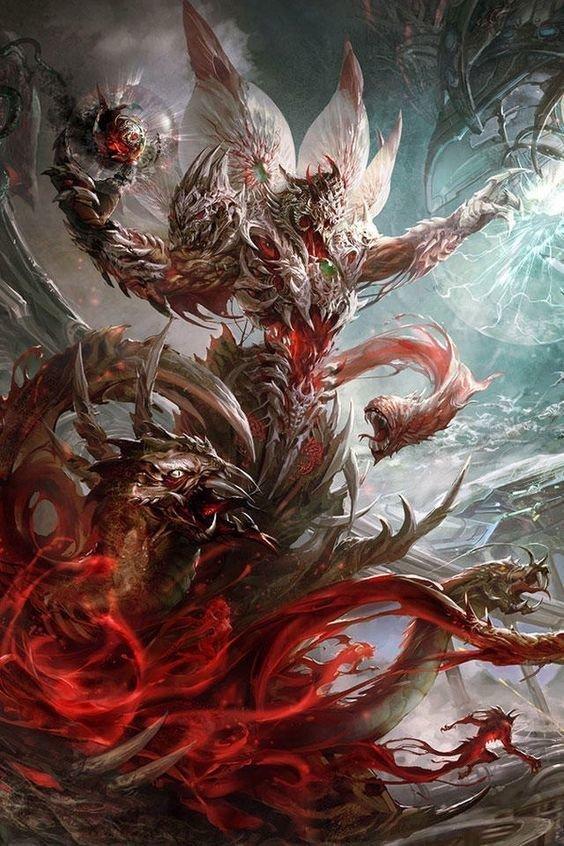 Lord of Evil интересно, искусство, красиво, монстры. страх, прикольно, ужасы, чудовища