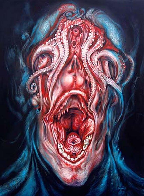 Steve Somers интересно, искусство, красиво, монстры. страх, прикольно, ужасы, чудовища