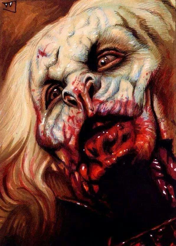 Trev Murphy. Дракула интересно, искусство, красиво, монстры. страх, прикольно, ужасы, чудовища