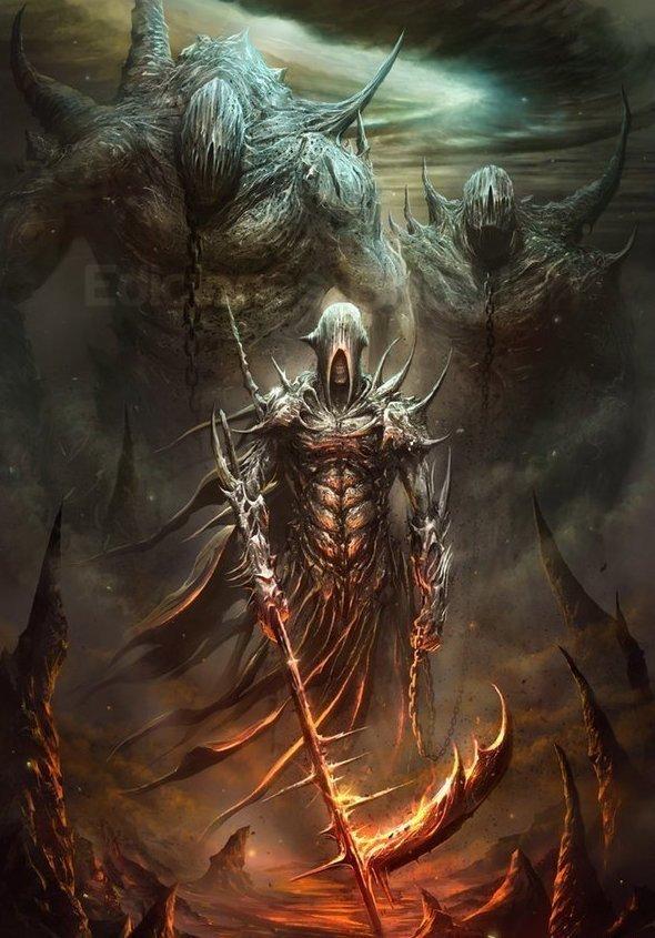 Эйича Мацуба интересно, искусство, красиво, монстры. страх, прикольно, ужасы, чудовища