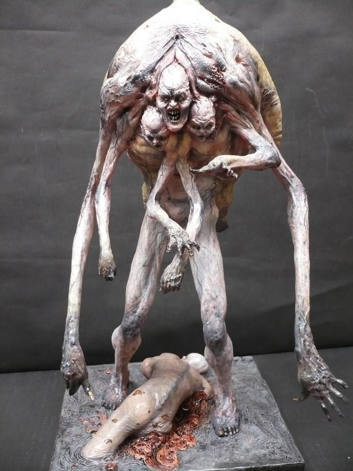 Скульптуры. Джерард С. Маранц интересно, искусство, красиво, монстры. страх, прикольно, ужасы, чудовища