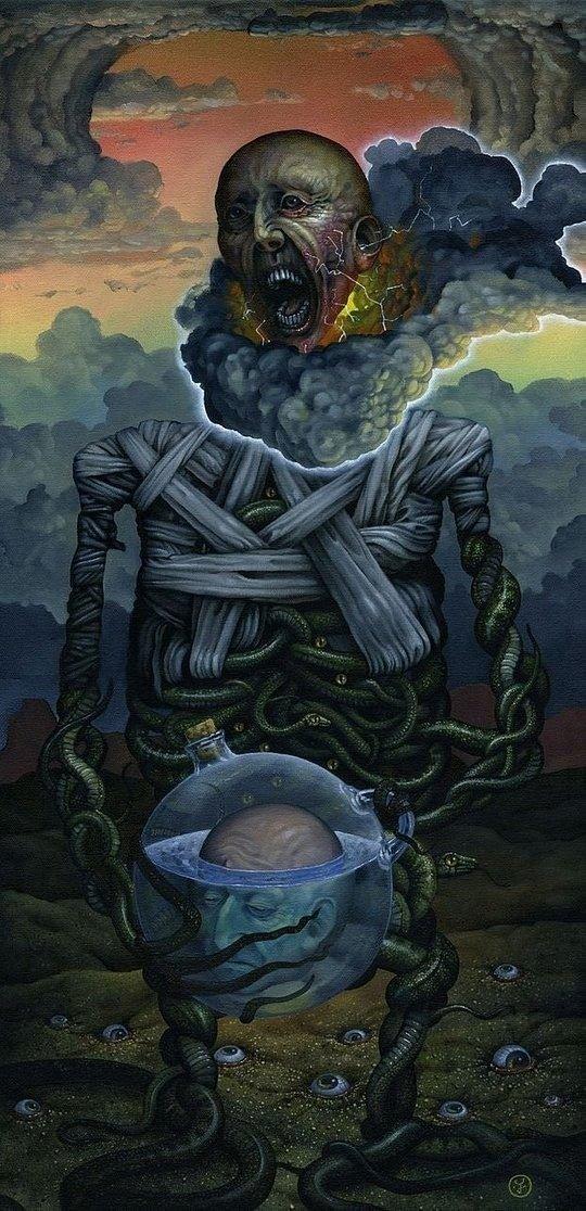 Jeff Christensen интересно, искусство, красиво, монстры. страх, прикольно, ужасы, чудовища