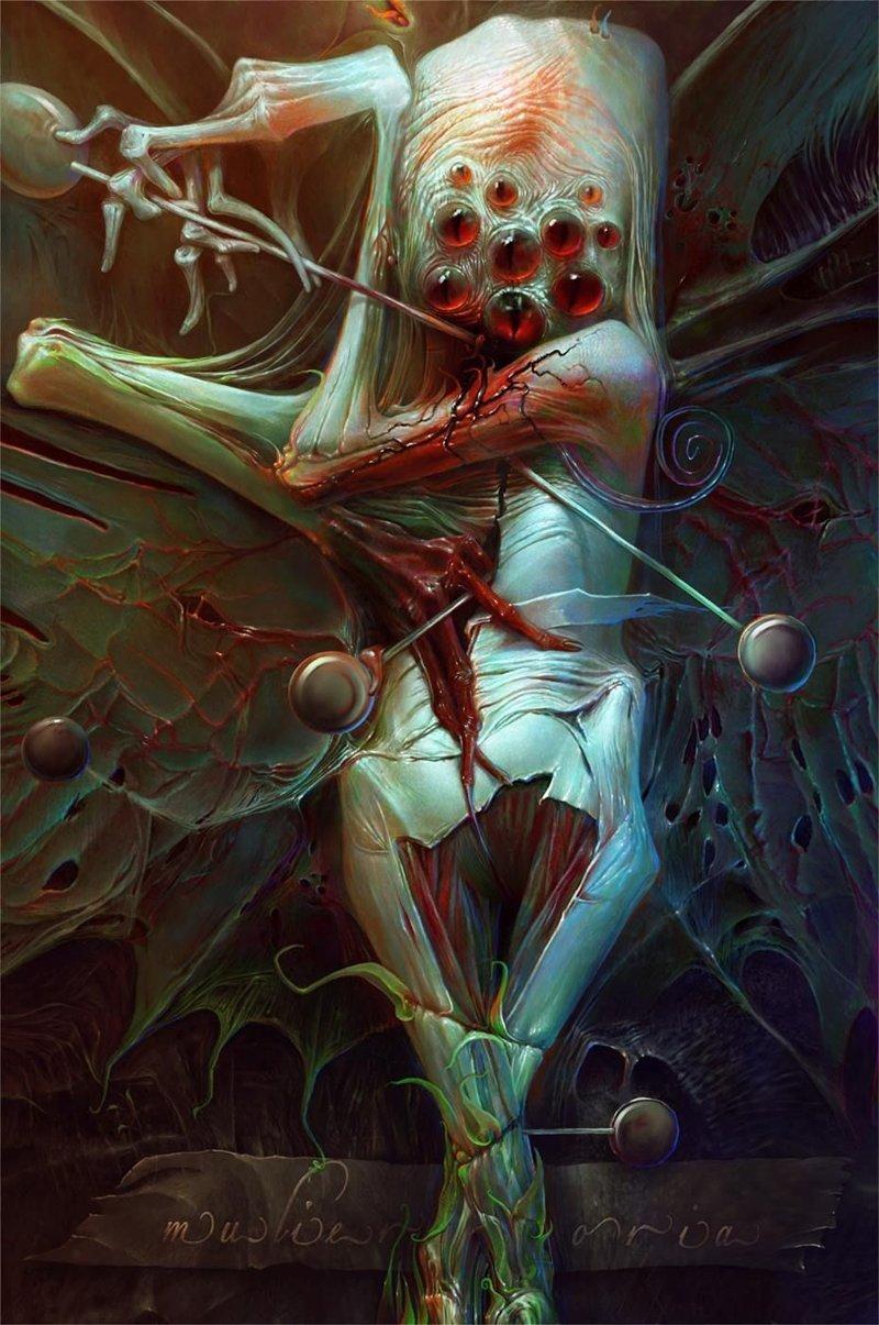 Александр Кумпан интересно, искусство, красиво, монстры. страх, прикольно, ужасы, чудовища