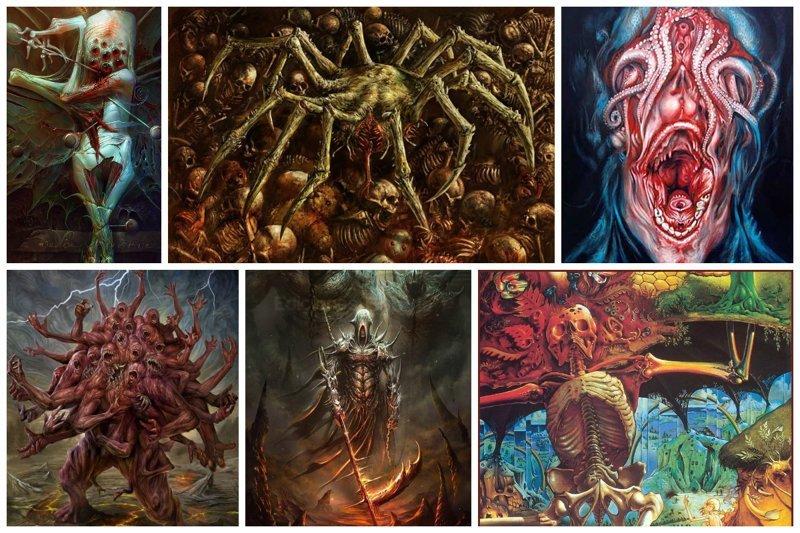 Центр современного искусства ужасов интересно, искусство, красиво, монстры. страх, прикольно, ужасы, чудовища