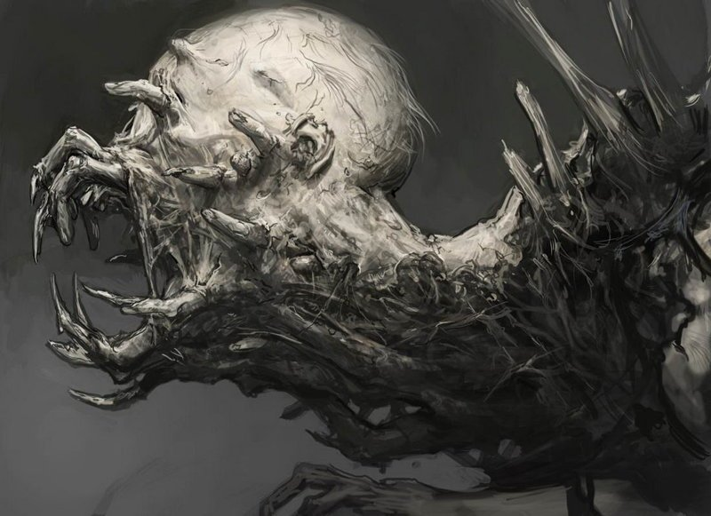 Арт Dead Space 3 . интересно, искусство, красиво, монстры. страх, прикольно, ужасы, чудовища