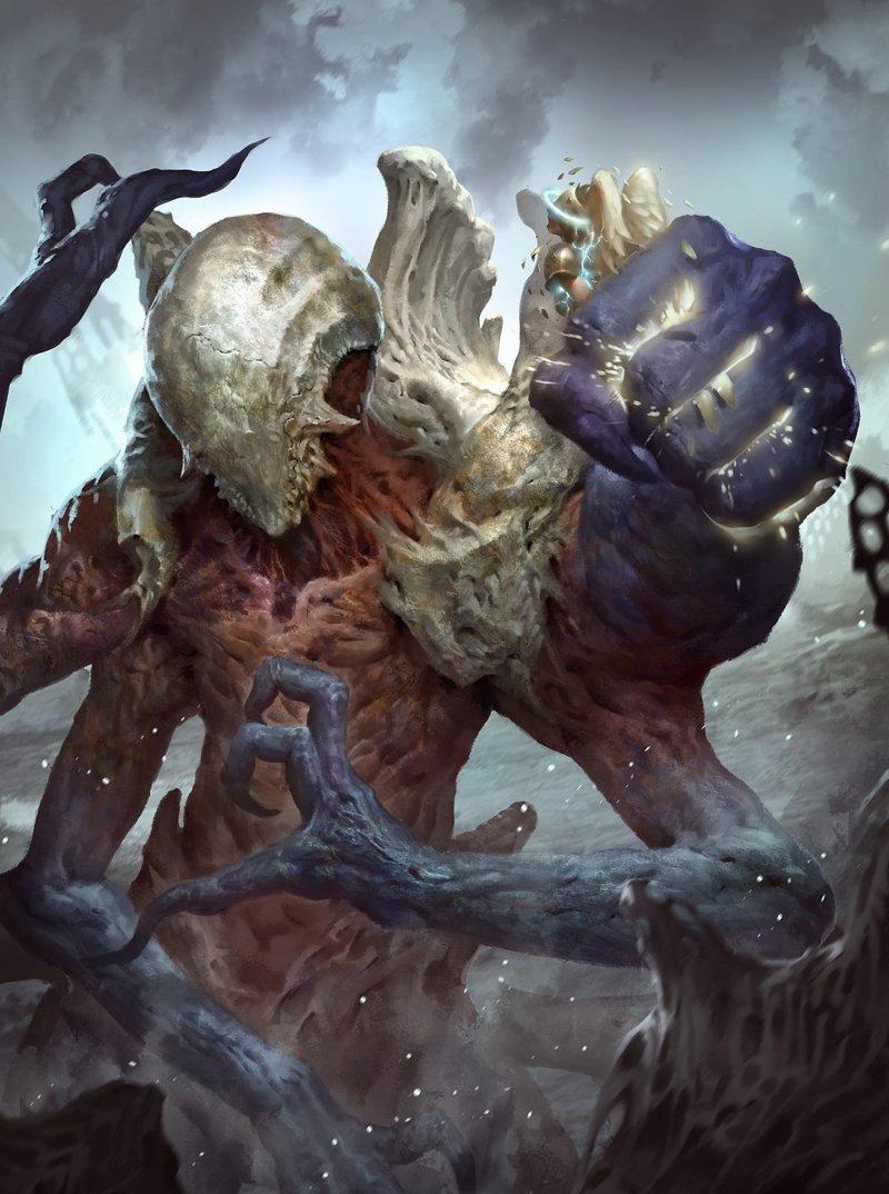 Роб Джуниор. Битва за Zendikar интересно, искусство, красиво, монстры. страх, прикольно, ужасы, чудовища