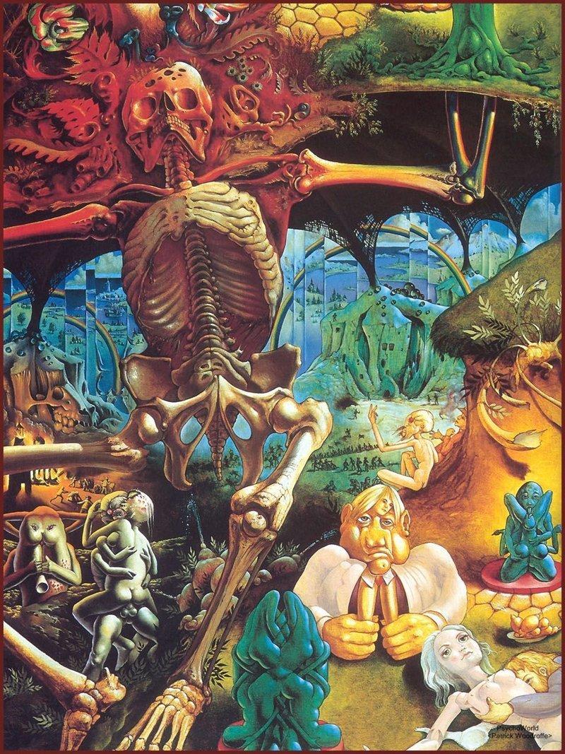 Патрик Вудроф интересно, искусство, красиво, монстры. страх, прикольно, ужасы, чудовища