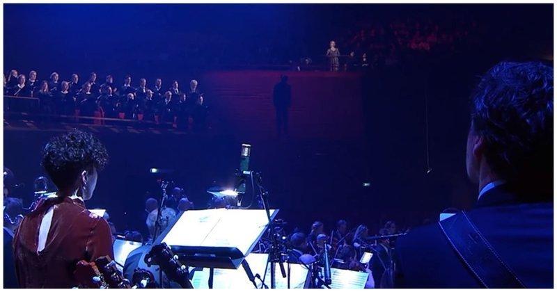 Саундтрек вестерна «Хороший, плохой, злой» в исполнении Датского национального симфонического оркестра Эннио Морриконе, вестерн, видео, дания, интересное, мелодия, музыка, оркестр, саундтрек