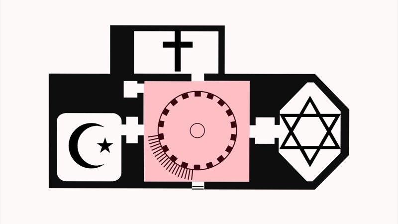 В Берлине постоят храм трех религий House of One, ynews, Дом Единого, берлин, мечеть, синагога, храм