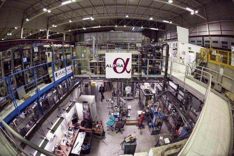 Коллаборация ALPHA ближе других экспериментов подошла к измерению поведения нейтральной антиматерии в гравитационном поле гравитация, интересно, космонавты, космос, факты