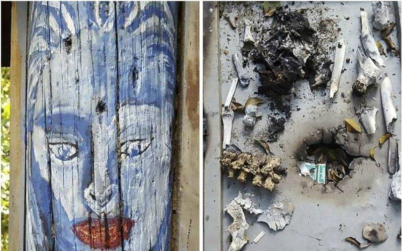 В Венесуэле пойман каннибал, рисовавший картины кровью жертв Luis Alfredo Gonzalez, ynews, венесуэла, живопись, каннибализм, картины, преступление
