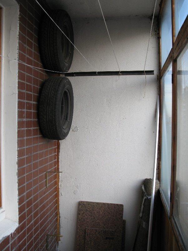 13 правильных способов хранить зимнюю резину в квартире авто, автомир, резина, фото, хранение резины, шины
