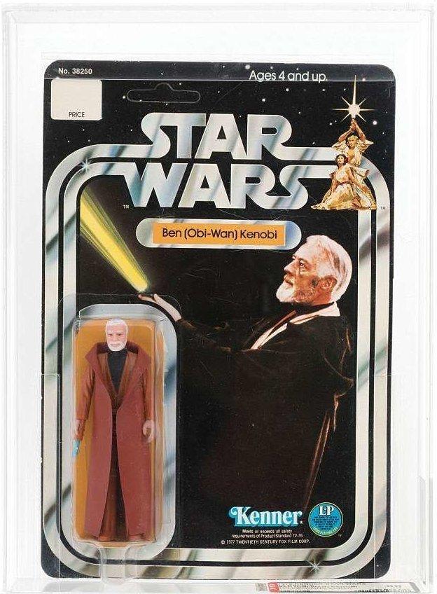 Игрушки сохранились в фирменной упаковке, которую за 40 лет даже не вскрыли  Стоимость, аукцион, звездные войны, игрушка, коллекция, персонаж, фигурка