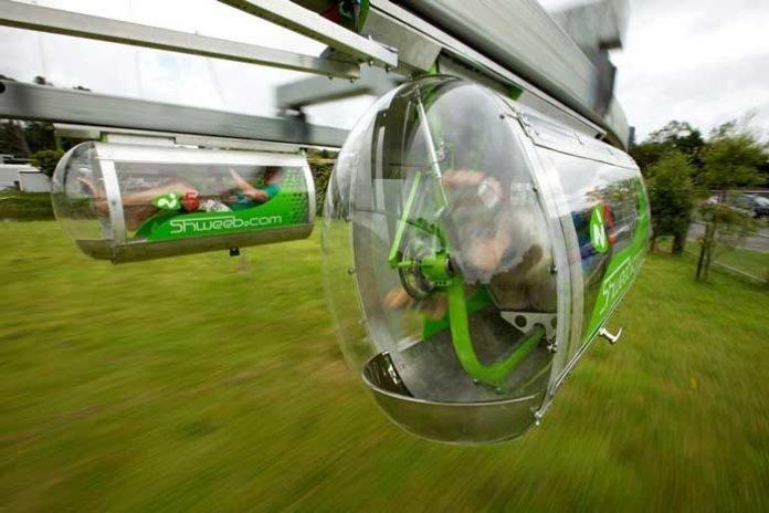 4. Вспомните фильмы про будущее, там обязательно есть транспорт для людей, в стиле монорельс игры, игры для взрослых, идеи для развлечений, интересно, фото