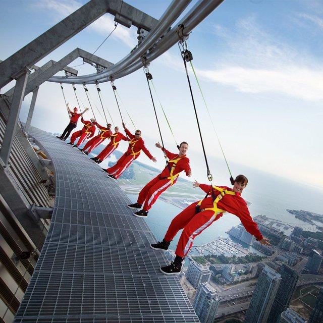 6. Си-Эн Тауэр - это башня ТЦ в Торонто игры, игры для взрослых, идеи для развлечений, интересно, фото