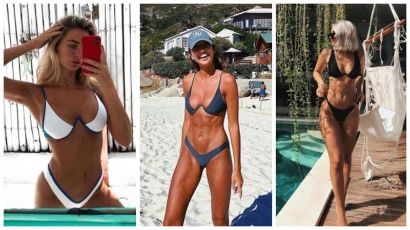 Новый V-образный бикини: летом будет жарко бикини, бюстгальтер, купальник, купальники, мода, новый дизайн, тренд пляжной моды, тренд сезона