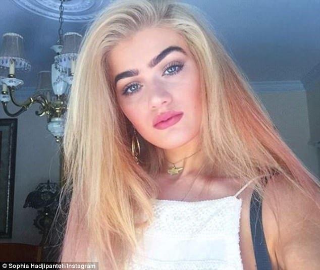 София в 2016 году Instagram, Instagram-аккаунты, Популярность, брови, девушка, красота, монобровь, фото
