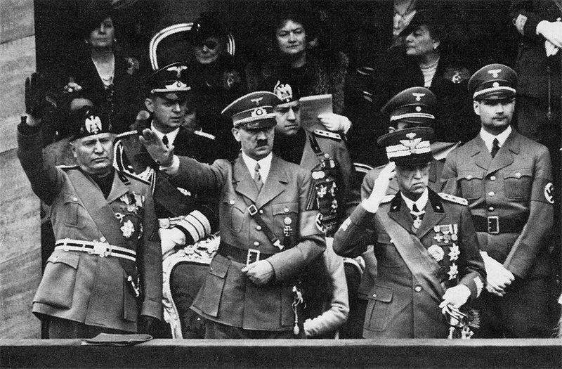 Италия аристократия, гитлер, европа, интересное, история, монархия