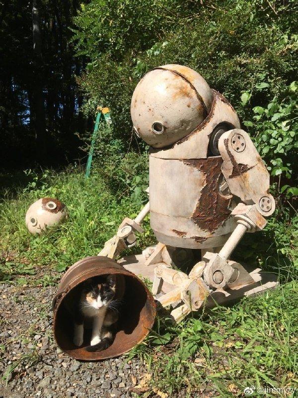 Здесь пост про роботов с наших улицы восстание, всячина, интересно, машины, роботы, смешно, юмор