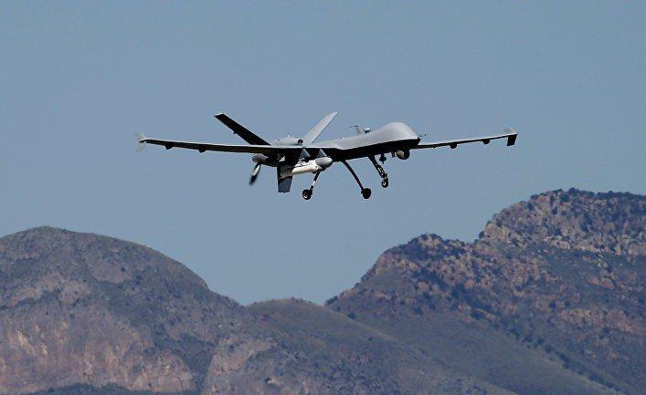 Российские военные помешали американским дронам в Сирии Российские военные, дроны, заглушки GPS, сирия