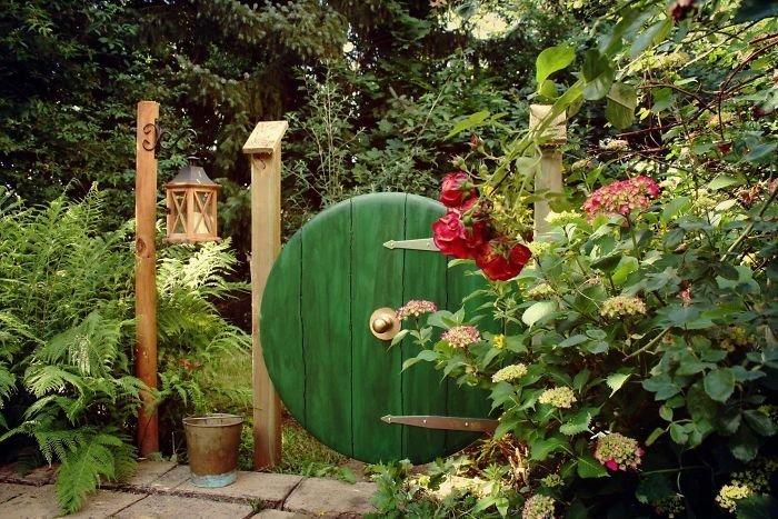 7. Ворота в сад из столешницы  идея, креатив, мастер, самоделки, своими руками, сделай сам, фото
