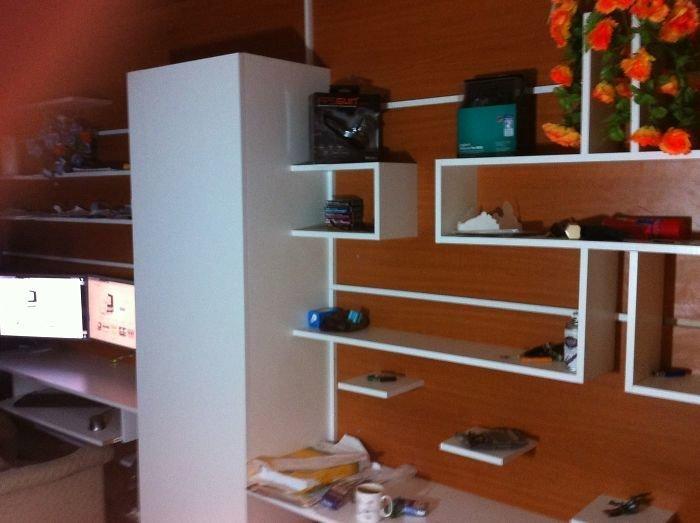 14. Самодельная мебель для кабинета  идея, креатив, мастер, самоделки, своими руками, сделай сам, фото