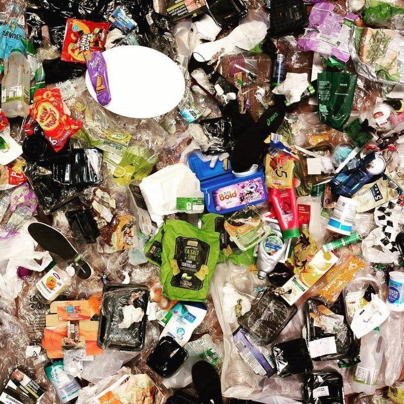Получилось действительно наглядно! в  мире, засорение, люди, мусор, планета, экология