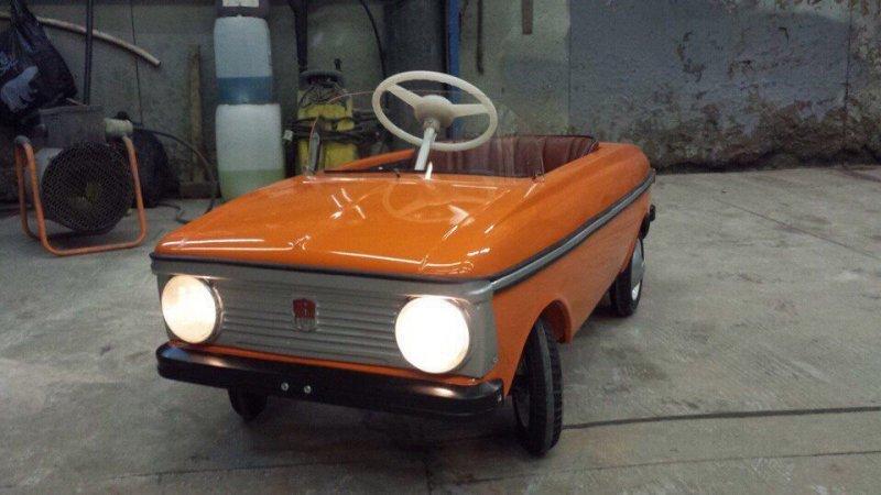 Автор: Sapo968 авто, автомобили, восстановление, детская машинка, москвич, педальная машинка, педальный москвич, реставрация