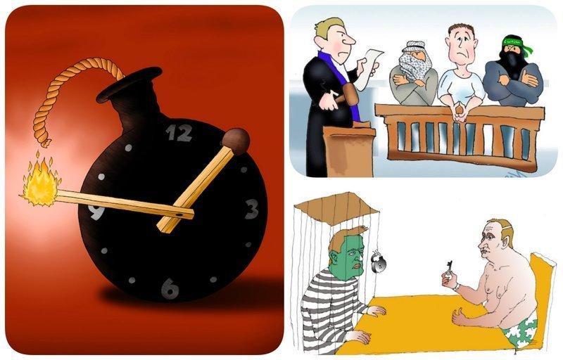 Актуальные новости по версии сайта «Бесэдер?» бесэдер, карикатуры, мировые новости, новости, рисунки, юмор