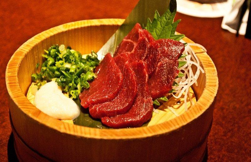 2. Basashi - Япония блюда, в мире, деликатесы, еда, национальная кухня, путешествия, разные страны, фото