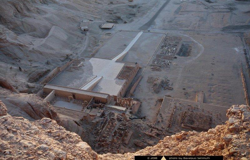 Не самый простой путь к храму царицы Хатшепсут Хатшепсут, археология, древний египет, египтология, история, мумия, фараон, храм