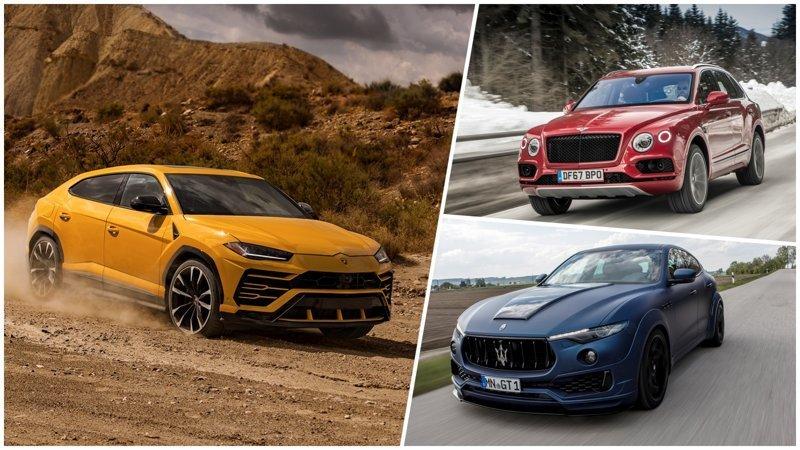 Внедорожники класса люкс: как выглядят кроссоверы от Bentley, Maserati и Lamborghini автомобили, внедорожники, дорогие автомобили, кроссоверы
