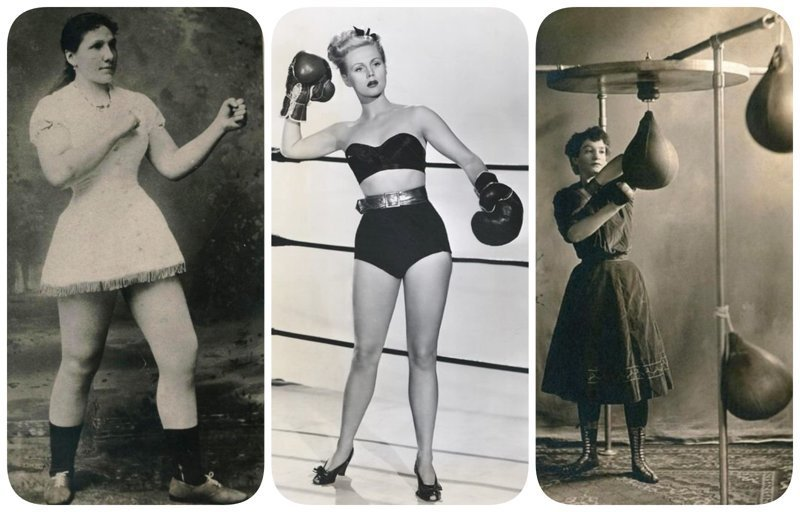 Женщины, которых боялись: суровый и беспощадный бокс бокс, женщины боксируют, женщины в спорте, интересно, история, спортсменки, фото