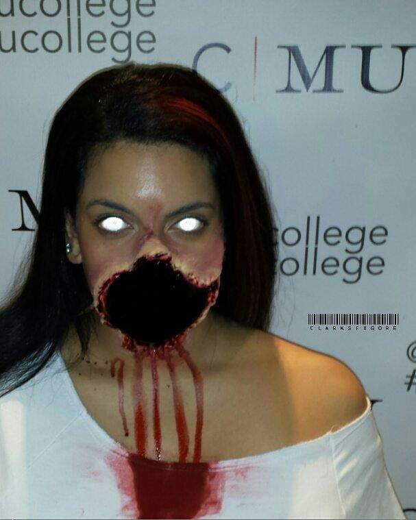 Накладки из вспененного латекса для грима зомби (и не только) зомби грим, интересное, искусство, кино, макияж, мастерство