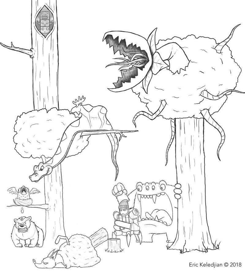 9-й день забавно, комикс, прикол, рисунок, художник, юмор