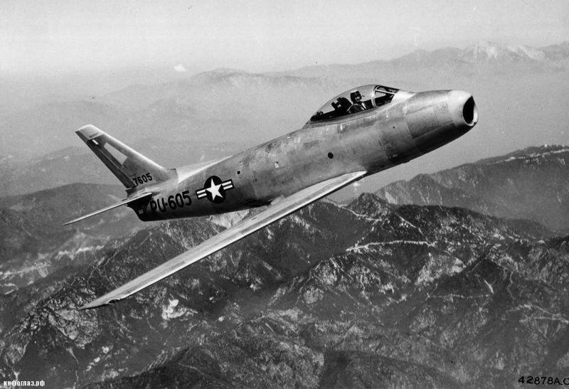 F-86 Сейбр война, история, факты