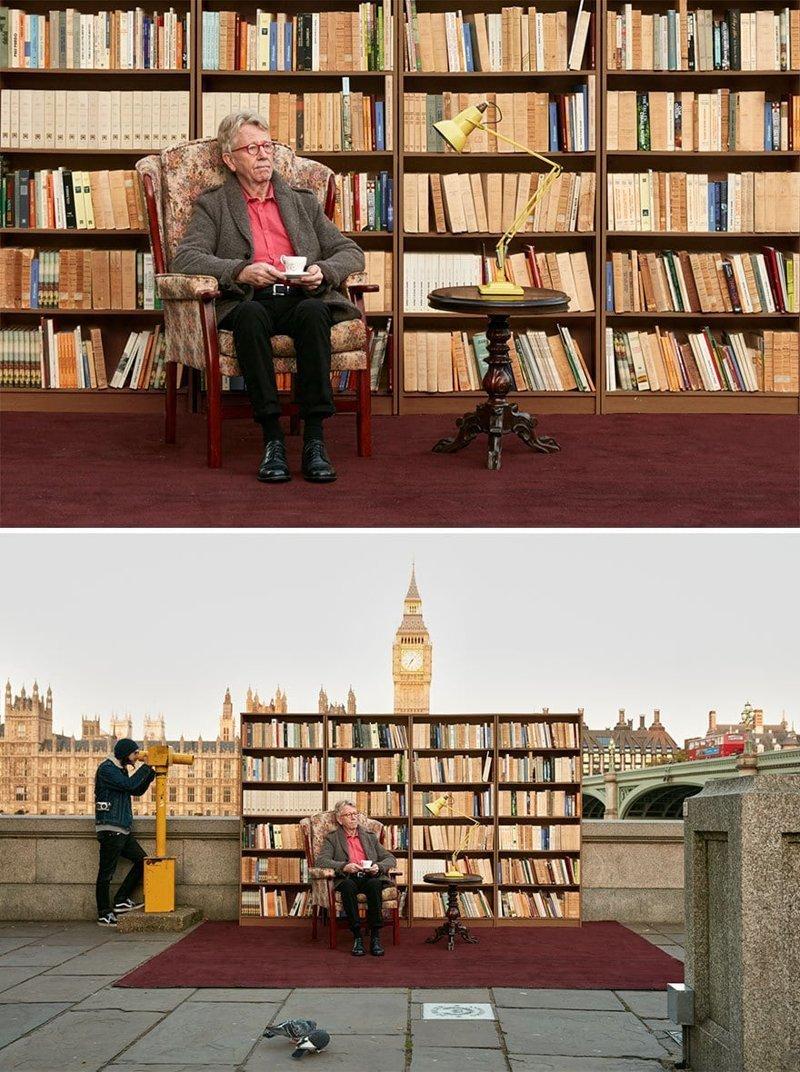 Лондон в мире, винтаж, интерьер, люди, снимки