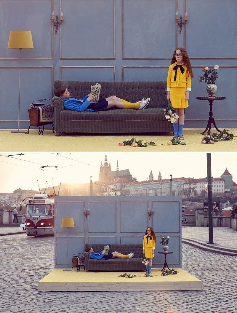 Прага в мире, винтаж, интерьер, люди, снимки