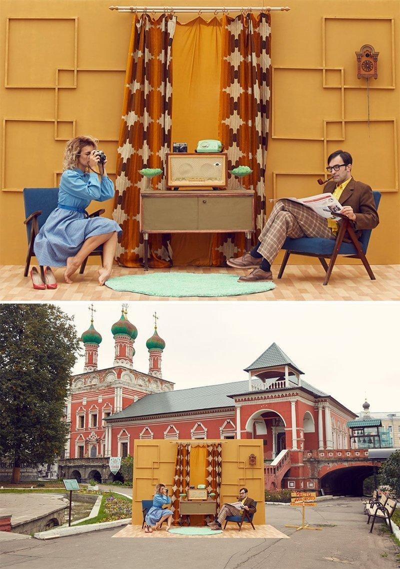 Москва в мире, винтаж, интерьер, люди, снимки