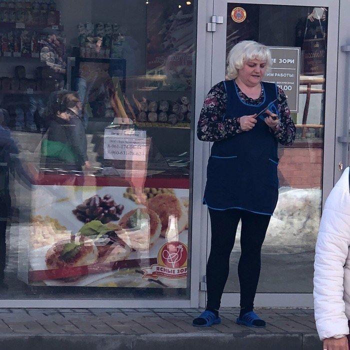 Пакет брать будете?: самые харизматичные продавцы планеты женщины, магазин, прикол, продавец, продукты, юмор