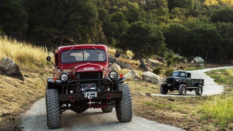 Из личного проекта по реставрации Dodge Power Wagon Уинслоу Бента, человека увлеченного классическим внедорожниками, вырос полноценный бизнес. dodge, авто, автомобли, внедорожник, грузовик, олдтаймер, ретро авто, тюнинг