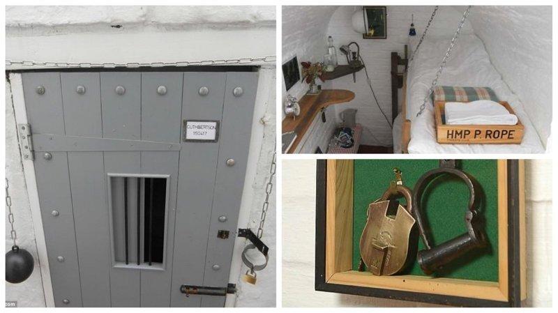 Гостиница-тюрьма: заплати за ночь за решеткой Отель, Тюрьма, великобритания, гостиница, декор, за решеткой, интерьер, необычный