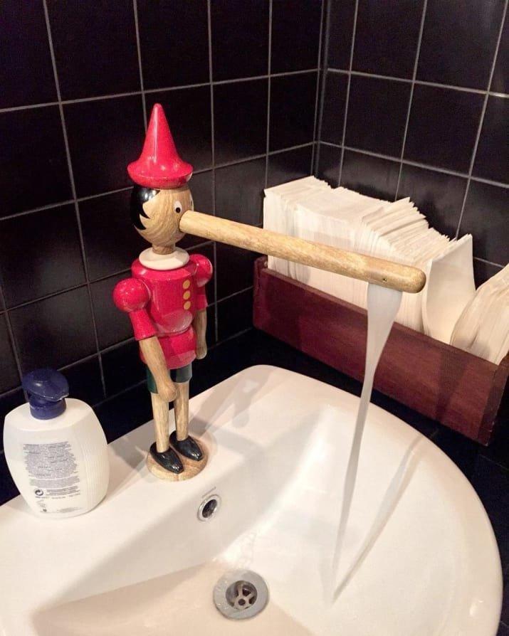 3. Пиноккио пригодился вещь, дизайн, креатив, мир, покупатель, товар, фото