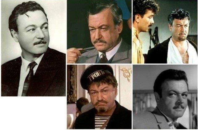 Кинороли Ефима Копеляна актёр, кино, народный артист СССР