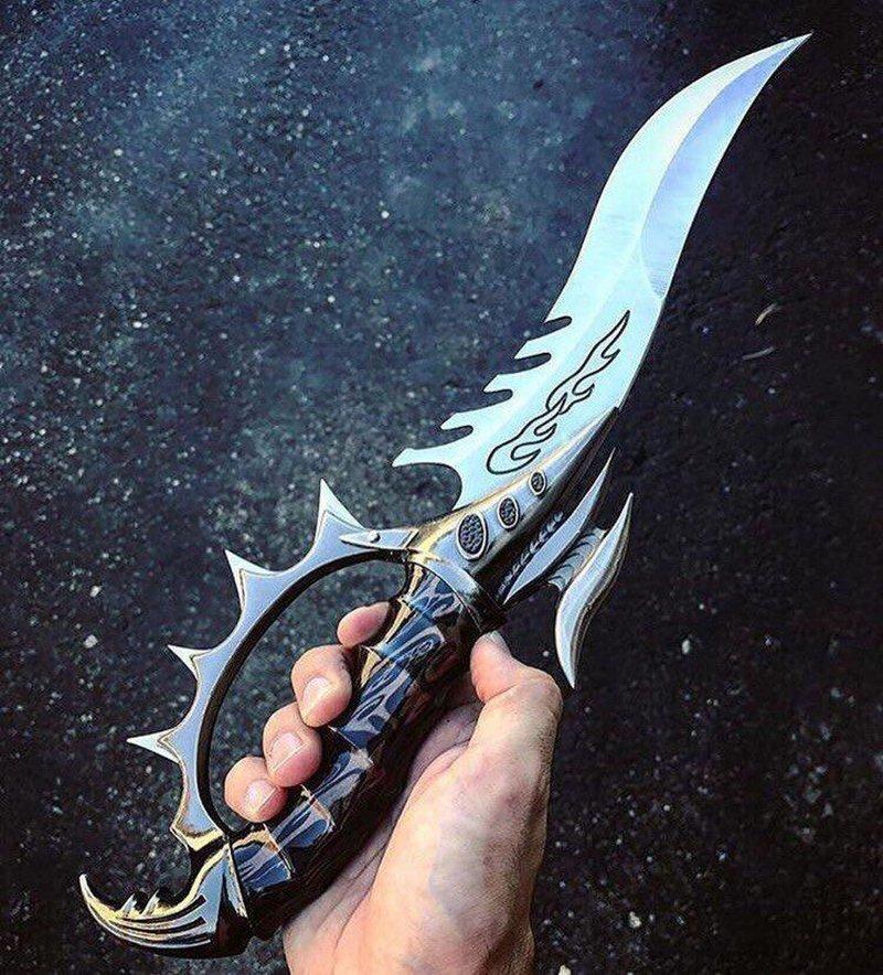 25 красивых и необычных ножей, которыми люди хвастаются в интернете Instagram, Мужские игрушки, ножи, фотографии