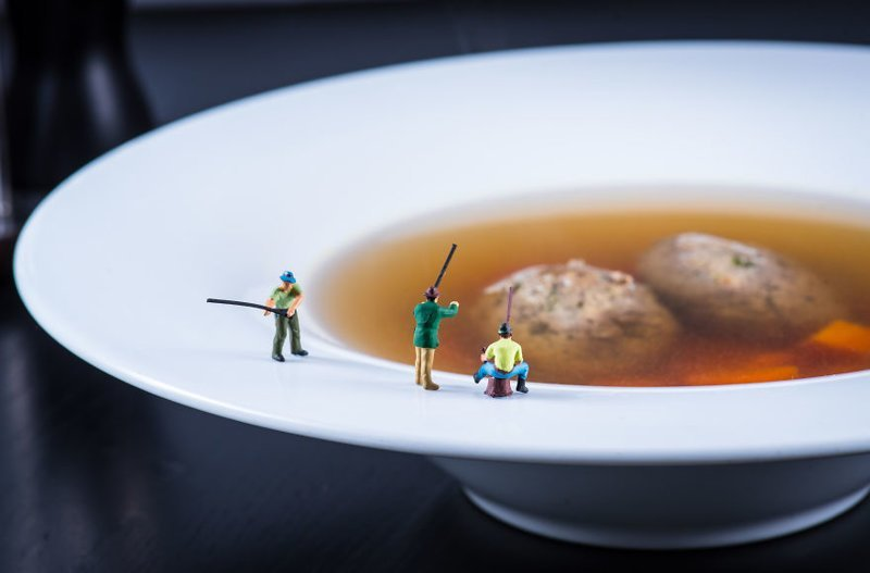 """Озеро-суп"" инсталляции, искусство, красиво, креатив, миниатюры, творчество, фото, фотограф"