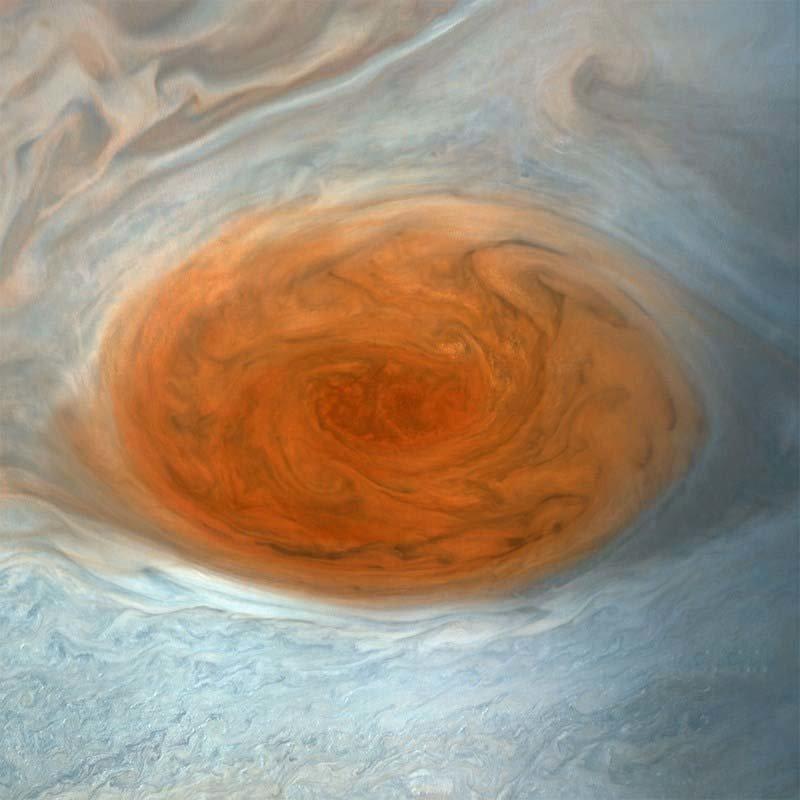 Вот законченная, полностью обработанная версия этого изображения кадр, космос, красота, планета, фото, юнона, юпитер
