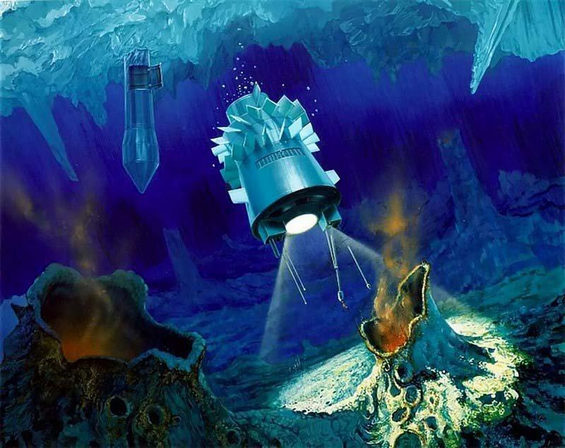 NASA не хочет случайны занести в эти океаны земные бактерии с «Юноны». Но в будущем вполне возможна отправка суперстерильной миссии под лёд для поиска инопланетной жизни кадр, космос, красота, планета, фото, юнона, юпитер