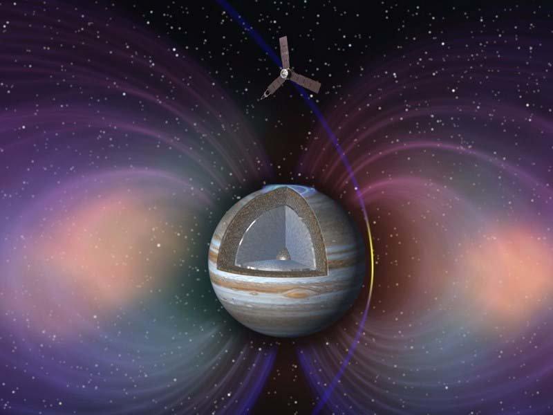 Планируется, что миссия «Юноны» будет завершена после 14-го перийова, 16 июля 2018 года, хотя NASA может продлить её ещё на 2-3 года кадр, космос, красота, планета, фото, юнона, юпитер